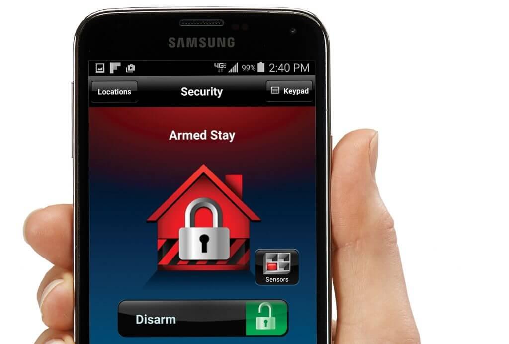 Maximum Security Mobile Alarm Control